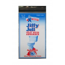 JIFFY JELL TOILET WATER ABSORBER