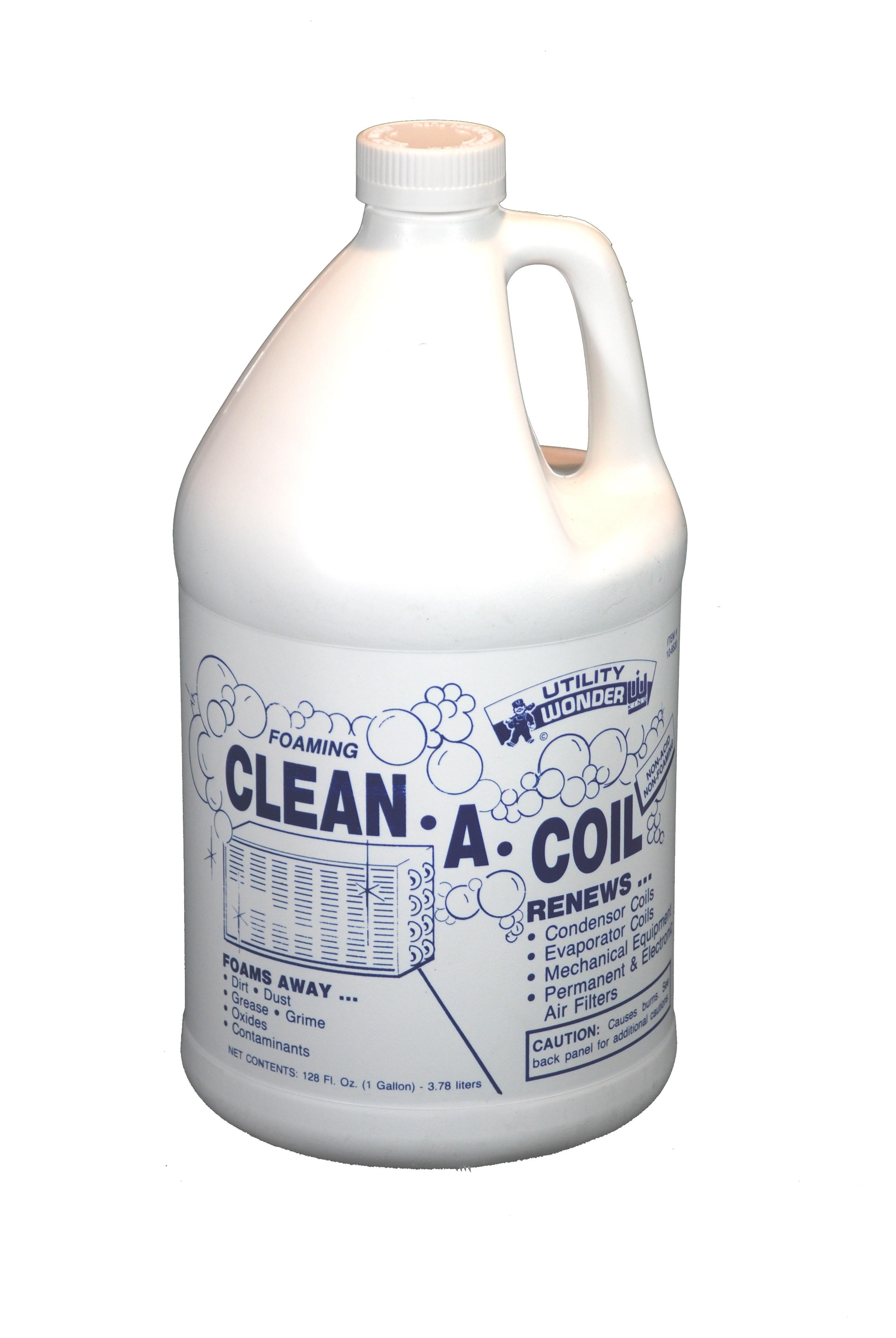FOAMING CLEAN-A-COIL COIL CLEANER & BRIGHTENER