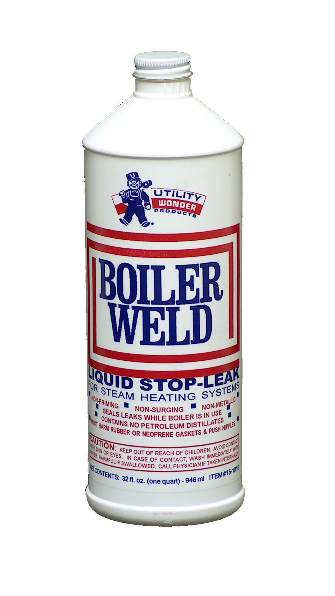 BOILER WELD LIQUID STOP-LEAK