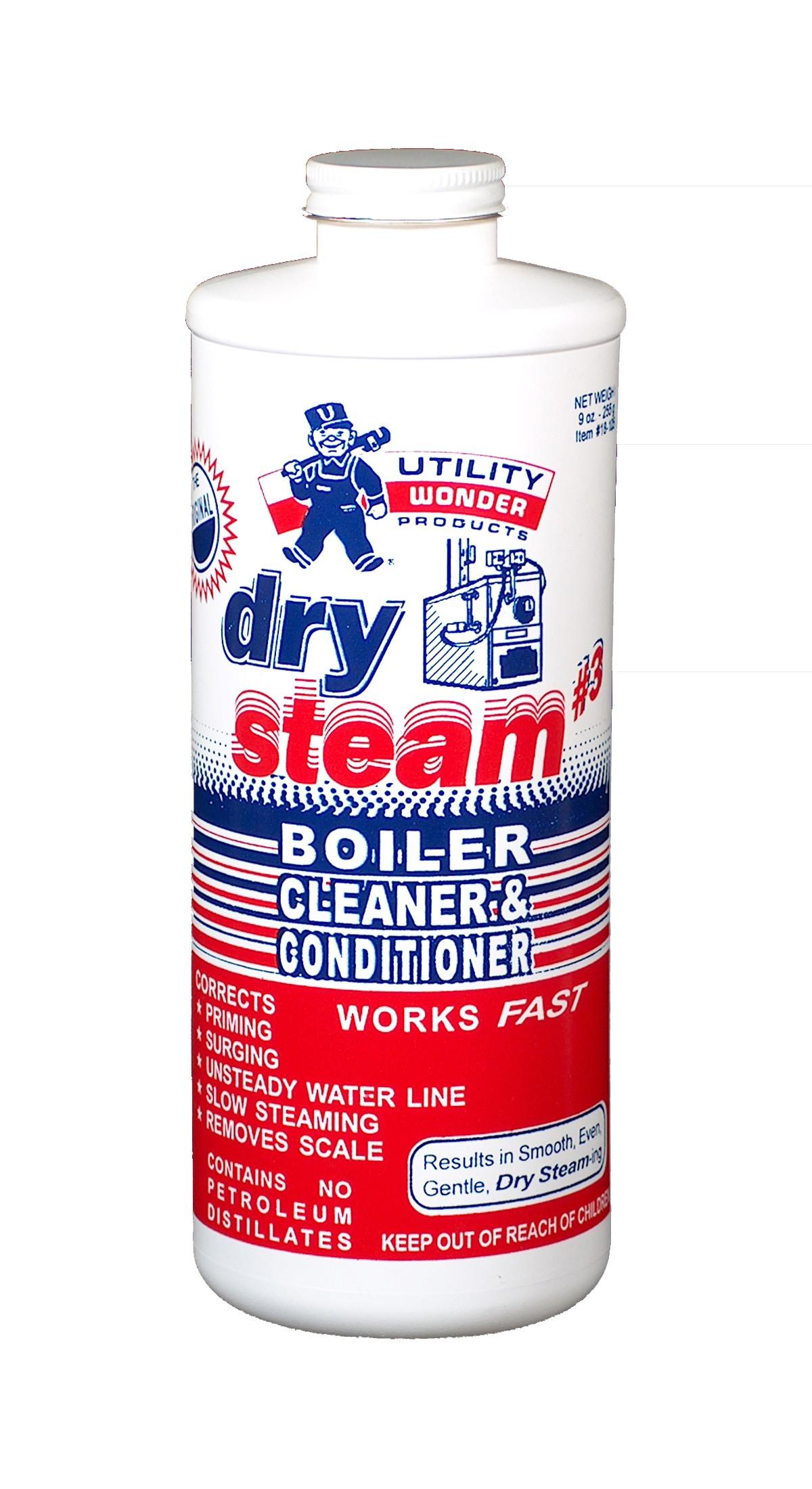 DRY STEAM #3 BOILER CLEANER