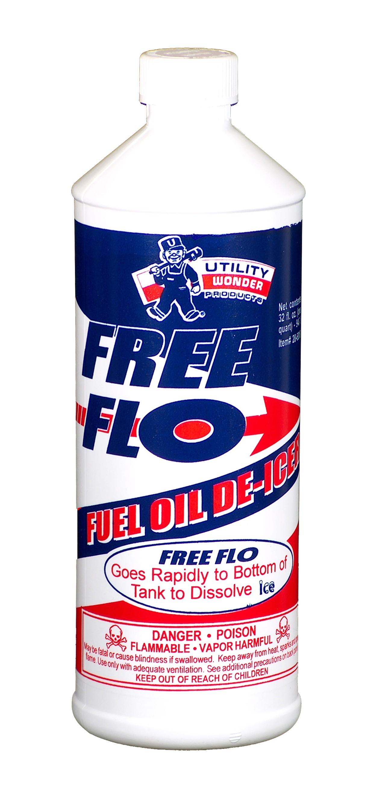 FREE FLO FUEL OIL DE-ICER