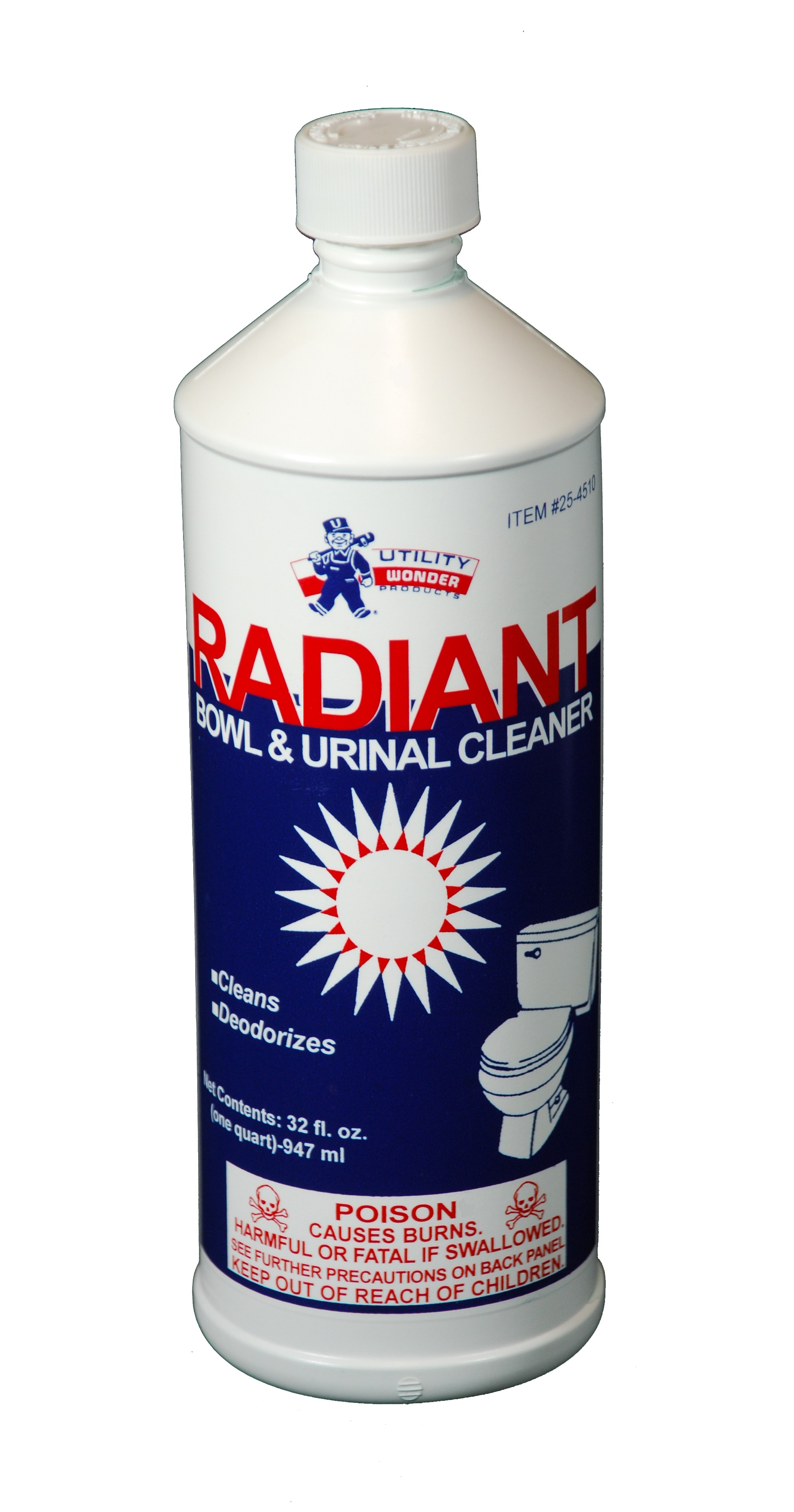 RADIANT LIQUID BOWL CLEANER