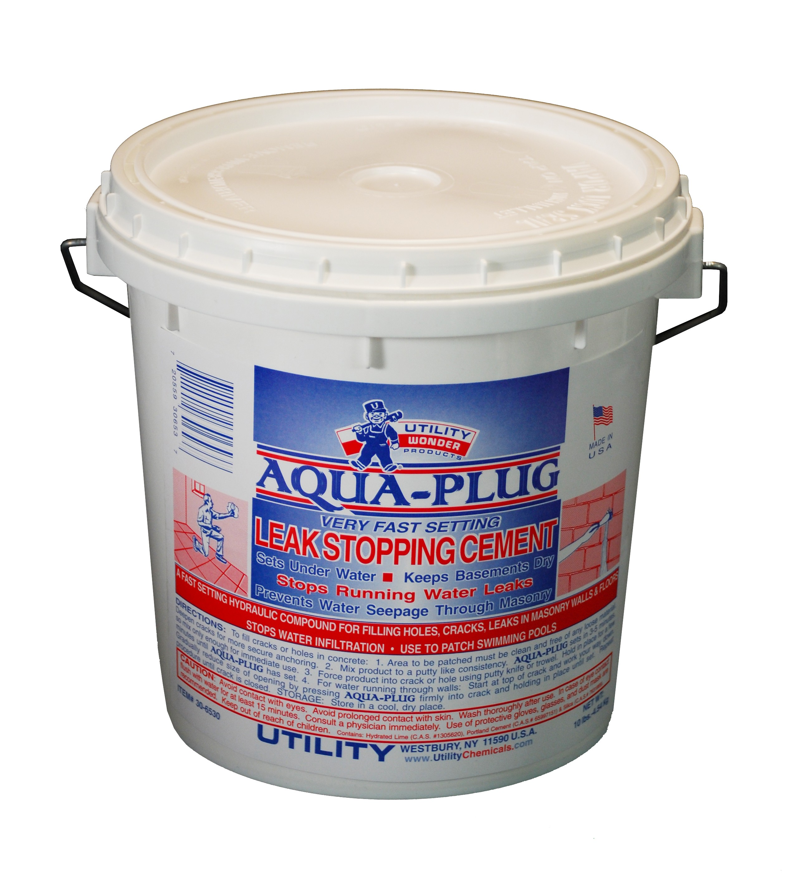 AQUA-PLUG LEAK STOPPING CEMENT