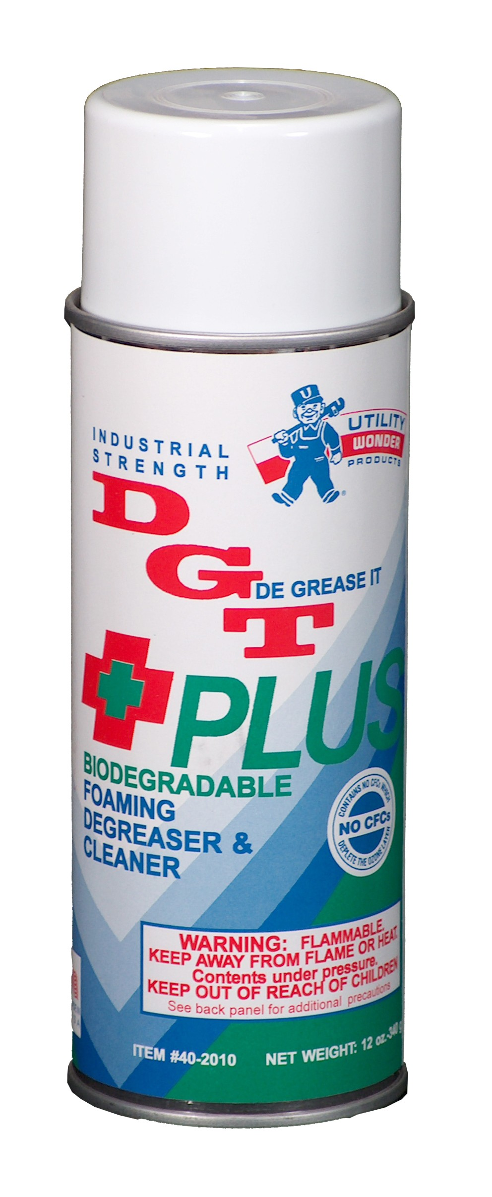 D.G.T.+PLUS 100% BIODEGRADABLE FOAMING DEGREASER AND CLEANER