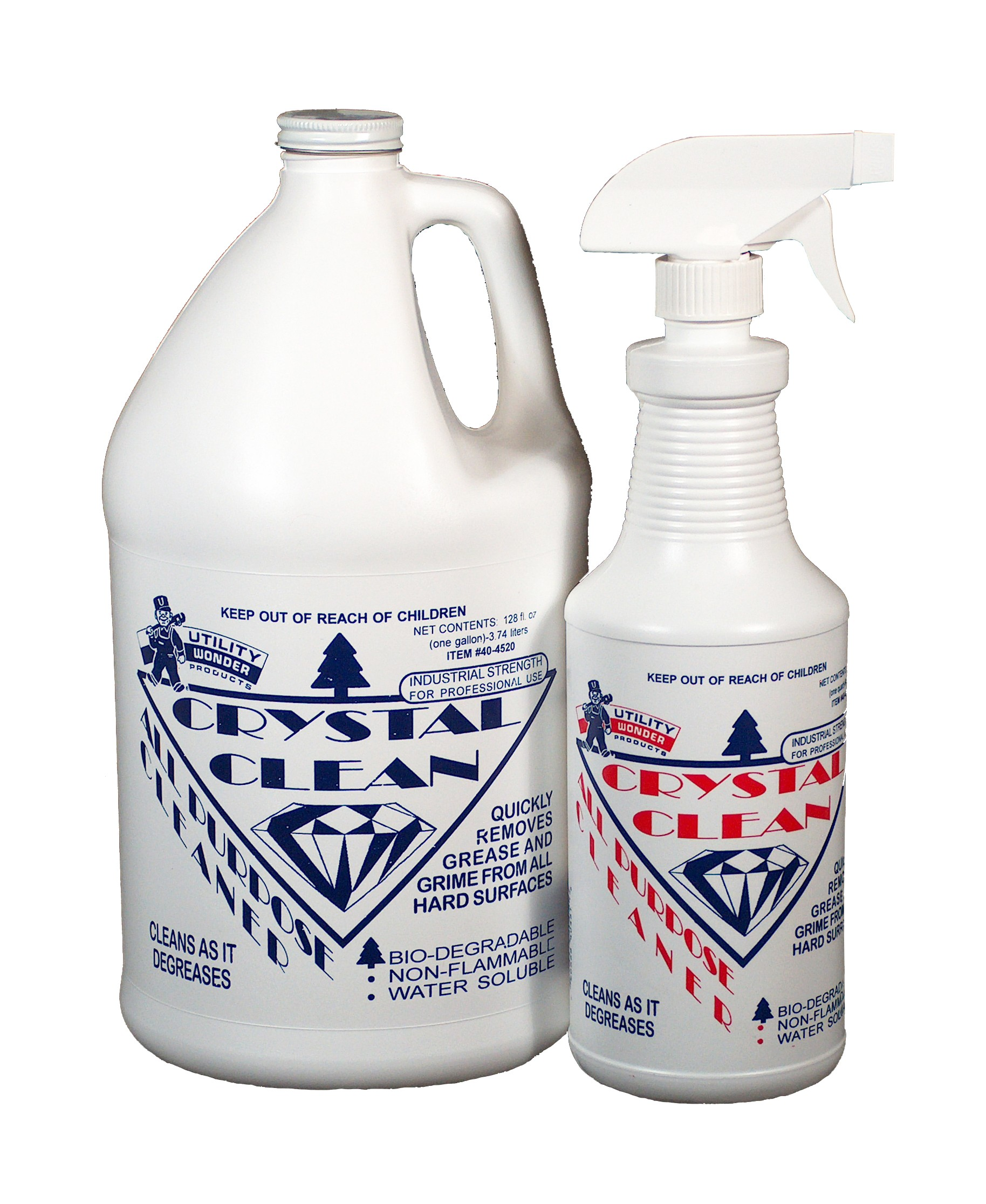 CRYSTAL CLEAN ALL-PURPOSE CLEANER/DEGREASER