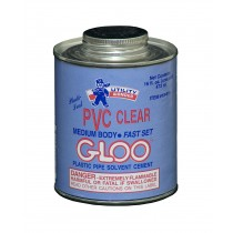 PLASTI-SEAL PVC CLEAR GLOO MEDIUM BODY SOLVENT CEMENT