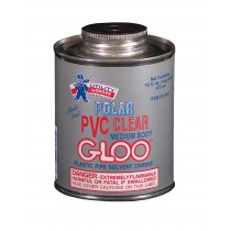 PLASTI-SEAL POLAR PVC CLEAR GLOO MEDIUM BODY SOLVENT CEMENT