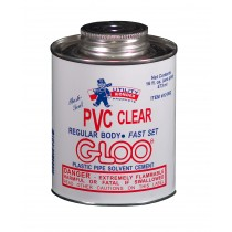 PLASTI-SEAL PVC CLEAR GLOO REGULAR BODY SOLVENT CEMENT