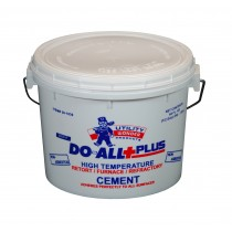 DO-ALL+PLUS FURNACE/ REFRACTORY/ RETORT & STOVE CEMENT